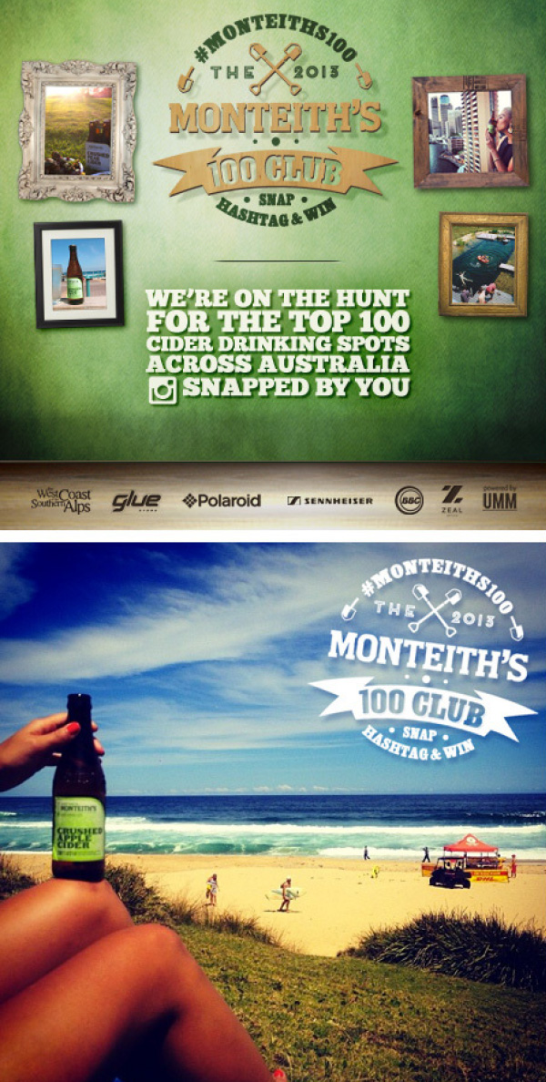 Monteiths campaign