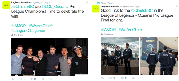 Social media coverage from the day and the exclusive after-party. esports