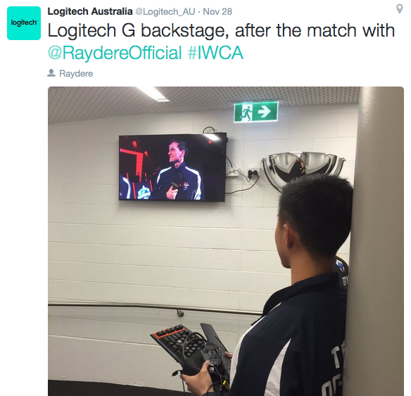 """An exclusive behind-the-scenes post of Aussie pro """"Raydere"""" prior to battle. Social media activation"""