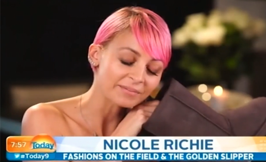 Nicole Richie on The Today Show