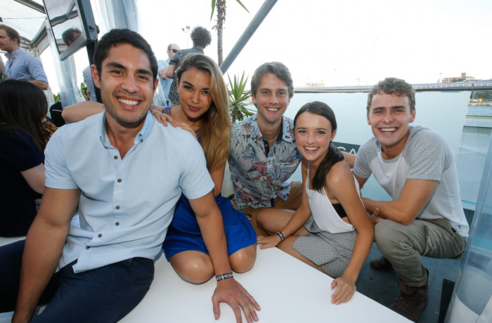 Stars from Home and Away were among the capacity crowd.