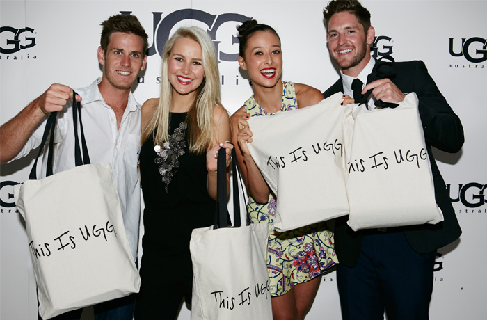 "The new global campaign, ""This is UGG"", was given a big push at the launch of the Sydney store."