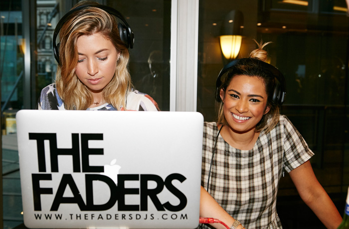 Entertainment was provided by international DJ duo The Faders.
