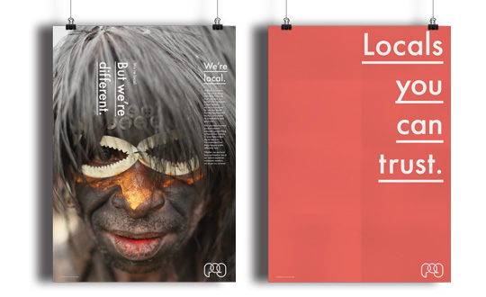 Corporate branding agency. PAG Posters.