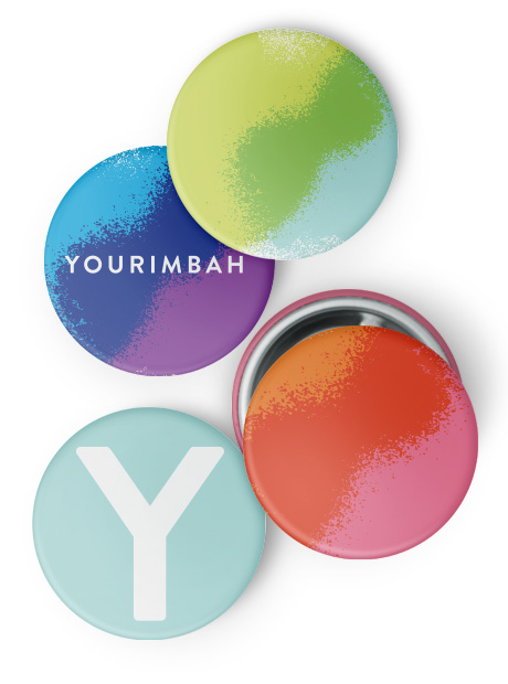 Design and branding agency. Yourimbah badges.