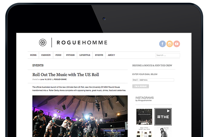 Event coverage in Rogue Homme's blog.