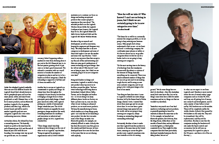 CEO Magazine's feature on Mr Darrell.