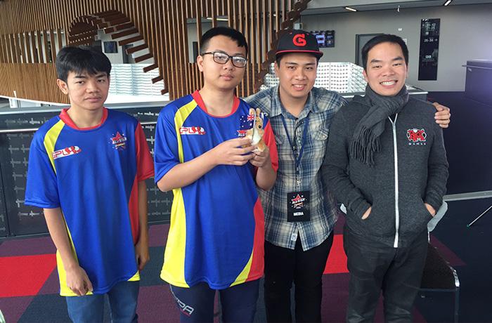 Team Southeast Asia received a plush mini-kangaroo.