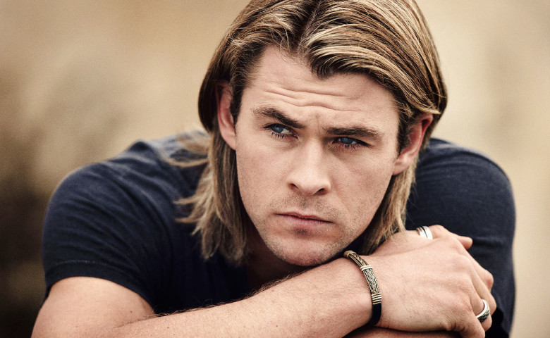 Social media strategist and influencer marketing Sydney. Chris Hemsworth, smouldering.